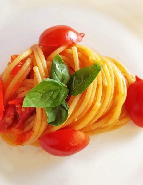 spaghettino pomodorini freschi